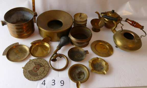 Collection of Brass – Lot of 15 items