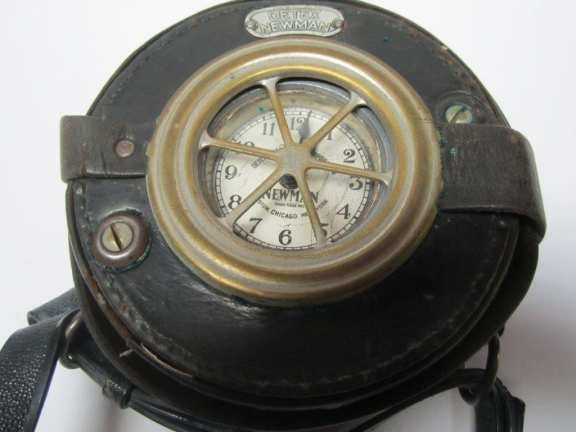 Detex Newman night watchman's clock