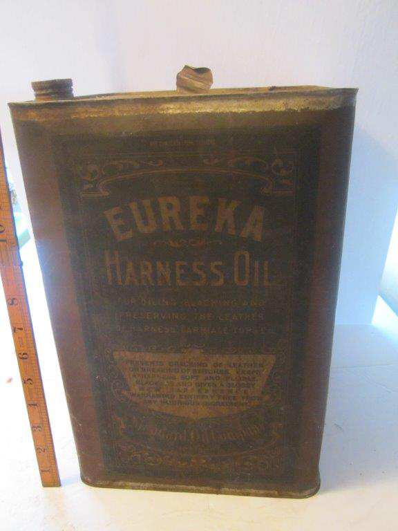 Eureka Harness oil can