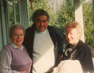 Ruth with dear friends George and Alma Sherwood