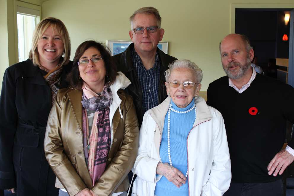 Karen, Jennifer, Ron, Ruth and Hugh.