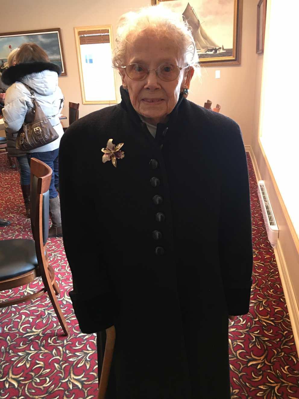 Ruth's 94th birthday lunch in Ereau