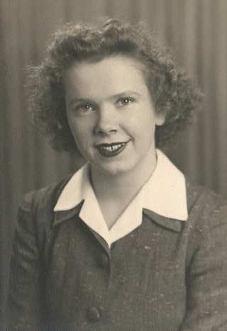 Ruth in her early 20s