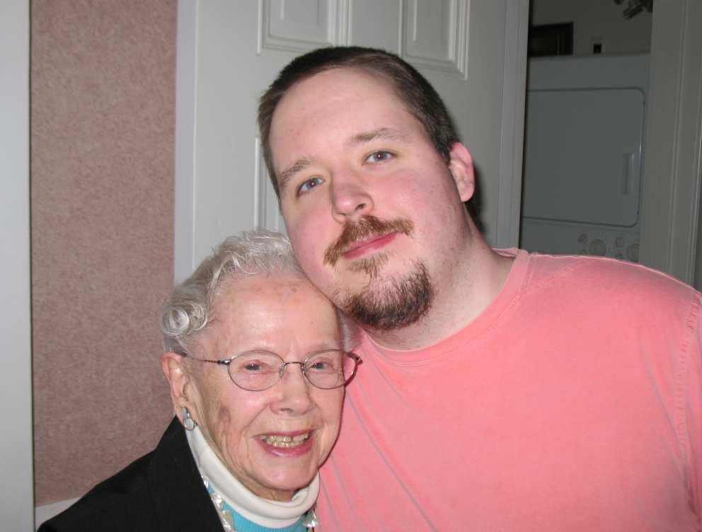Ruth with nephew Ryan