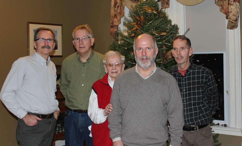 Ruth with boys Christmas 2015